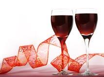 czerwone wino fotografia stock