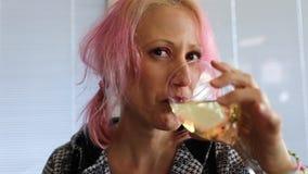 czerwone wino, zbiory wideo