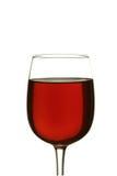 czerwone wino szkła Obrazy Stock