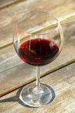 czerwone wino szkła Obraz Stock