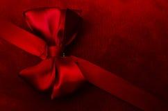 czerwone wstążki Zdjęcia Stock