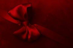 czerwone wstążki Zdjęcie Stock