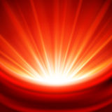 Czerwonego światła jaskrawy tło Obrazy Royalty Free