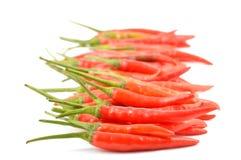 Czerwonego chili pieprze Obrazy Royalty Free