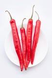 Czerwonego chili pieprze Obrazy Stock