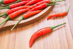 Czerwonego chili pieprze Zdjęcia Royalty Free