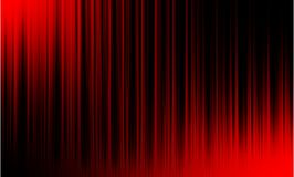 Czerwonego cyfrowego wyr?wnywacza audio rozs?dne fale na czarnym tle, zdjęcie royalty free