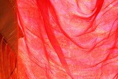czerwonego jedwabiu obraz stock
