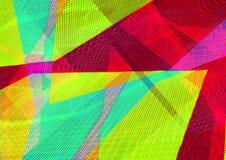 Czerwonego koloru geometryczny abstrakcjonistyczny tło dekoraci projekta ludowa wewn?trzna tekstura ukrainian tw?j zdjęcie royalty free