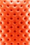 Czerwonego koloru kanapy płótna tekstura Zdjęcia Royalty Free