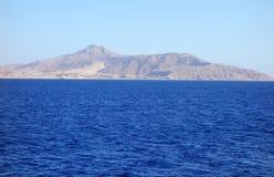 Czerwonego morza krajobraz obraz stock