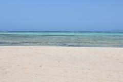 Czerwonego morza plaży Czerwony morze Egipt Obrazy Royalty Free