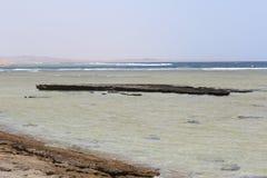 Czerwonego morza plaży Czerwony morze Egipt Obrazy Stock