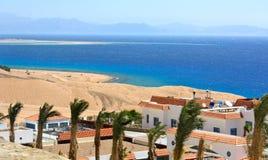 czerwonego morza widok Zdjęcie Royalty Free