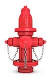 Czerwonego ogienia Hydranton 3d rendering Zdjęcie Stock