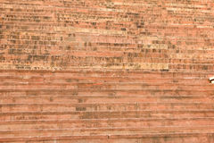 Czerwonego piaskowa schody przy wejściem Buland Darwaza Zdjęcie Stock