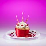Czerwonego rodzynku słodka bułeczka świętowanie Obraz Royalty Free