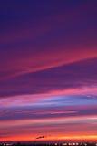 czerwonego słońca Obrazy Stock