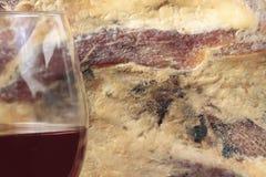Czerwonego wina tło fotografia stock