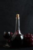 czerwonego wina winogrona Fotografia Stock