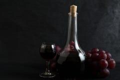 czerwonego wina winogrona Fotografia Royalty Free