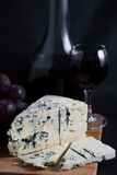 czerwonego wina winogrona Zdjęcie Royalty Free