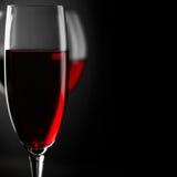 Czerwonego wina zakończenie Obraz Royalty Free