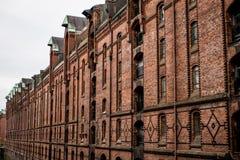 Czerwonej cegły przemysłowi budynki obraz stock