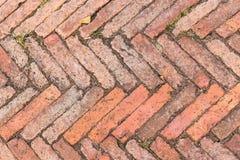 Czerwonej cegły tekstury tło Fotografia Royalty Free