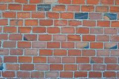 Czerwonej cegły kamieniarstwo Zdjęcie Royalty Free