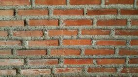 Czerwonej cegły tapeta Zdjęcie Royalty Free