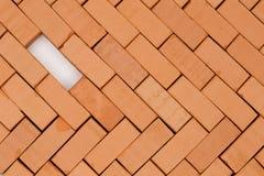 Czerwonej cegły wzór Obraz Stock
