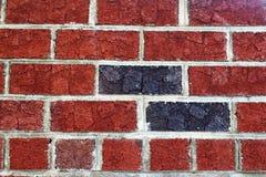 Czerwonej cegły tło Fotografia Stock