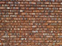 Czerwonej gliny ściana z cegieł Obrazy Stock