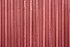 Czerwonej linii ogrodzenie Zdjęcie Royalty Free