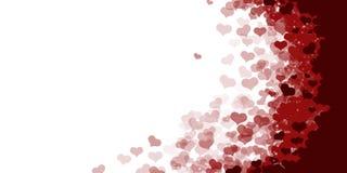Czerwonej tło tekstury kierowa biała etykietka ilustracji
