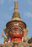 CZERWONEJ twarzy gigant TAJLANDZKI Fotografia Stock