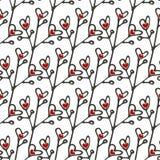 Czerwoni boże narodzenia balowi na biały tle również zwrócić corel ilustracji wektora fotografia stock