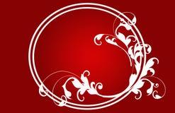 czerwoni boże narodzenie karciani kwiaty ilustracja wektor