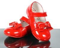 czerwoni buty Fotografia Royalty Free
