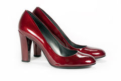 czerwoni buty zdjęcie stock