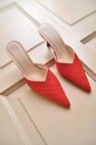 czerwoni buty obrazy stock