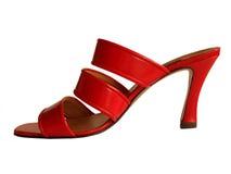 czerwoni buty Zdjęcia Stock