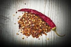 czerwoni chili pieprze susi gorący Obraz Royalty Free
