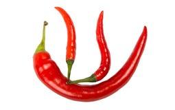Symboliczny gorący chili statek Obraz Royalty Free