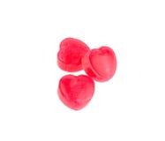 Czerwoni cukierków serca Obraz Stock