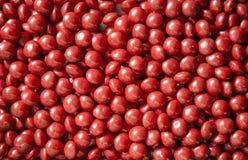 Czerwoni cukierki zdjęcia royalty free