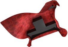 czerwoni czarny dywanowi sześciany Zdjęcia Royalty Free