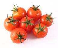 Czerwoni czereśniowi pomidory Obrazy Stock