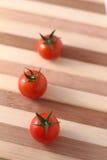 Czerwoni czereśniowi pomidory Obrazy Royalty Free